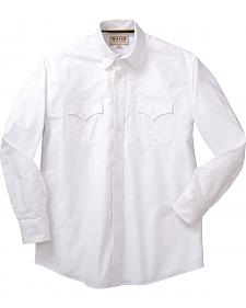Miller Ranch Solid White Dress Shirt