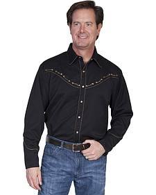 Scully Brass Stud Phoenix Shirt