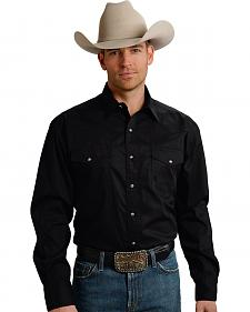 Roper Men's Amarillo Collection Poplin Shirt
