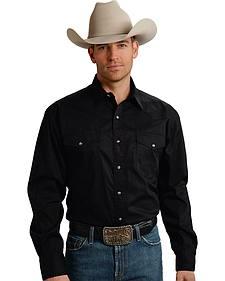 Roper Men's Amarillo Collection Poplin Shirt
