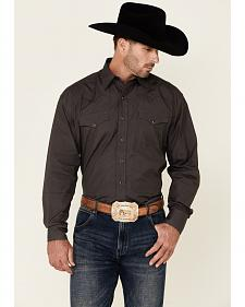 Stetson Men's Charcoal Western Shirt