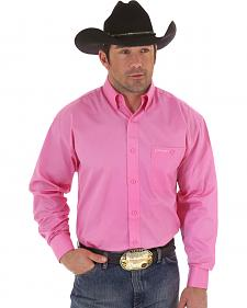 "Wrangler ""Tough Enough To Wear Pink"" Western Shirt"
