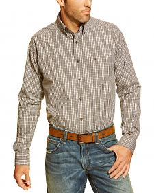 Ariat Men's Fabien Plaid Button Long Sleeve Shirt
