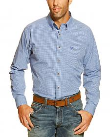 Ariat Men's Gandolf Plaid Button Long Sleeve Shirt