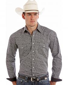 Rough Stock by Panhandle Slim Warren Print Western Shirt