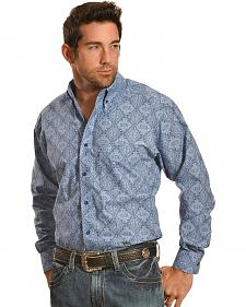 Ariat Pro Series Joel Print Classic Fit Western Shirt