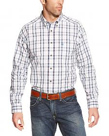 Ariat Men's Plaid Oakford Long Sleeve Performance Shirt