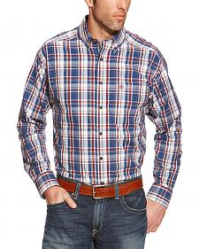 Ariat Patterson Plaid Performance Long Sleeve Shirt