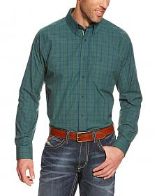 Ariat Princeton Plaid Performance Long Sleeve Shirt - Big & Tall