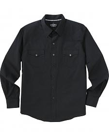Garth Brooks Sevens by Cinch Black Jacquard Western Shirt