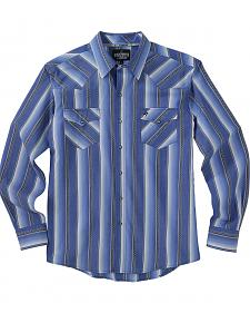 PRE-ORDER NOW! Garth Brooks Sevens by Cinch Blue Stripe Western Shirt