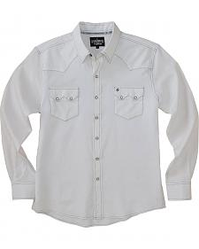 Garth Brooks Sevens by Cinch White Jacquard Western Shirt