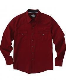 Garth Brooks Sevens by Cinch Red Jacquard Western Shirt