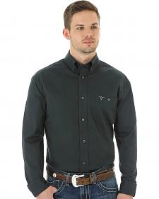 Wrangler 20X Advanced Comfort Men's Charcoal Button Shirt