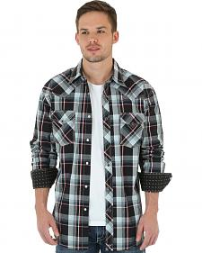 Wrangler 20X Men's Red & Black Plaid Shirt