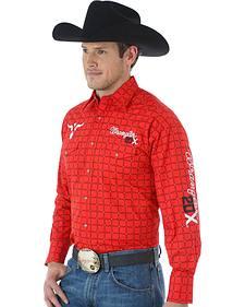 Wrangler 20X Men's Western Logo Shirt