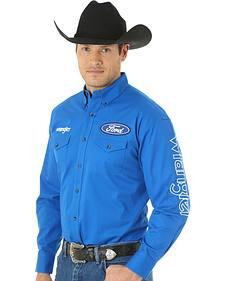 Wrangler Men's Ford Western Logo Shirt