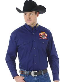 Wrangler Men's NFR Western Logo Shirt