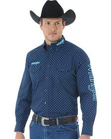 Wrangler Men's Western Logo Shirt