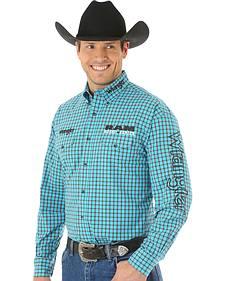 Wrangler Men's RAM Western Logo Shirt