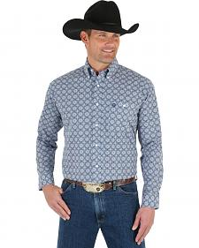 Wrangler George Strait Men's Medallion Shirt