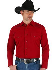 Wrangler Men's Sport Western Shirt