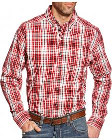 Ariat Men's Plaid Pro Series Thorpe Performance Shirt