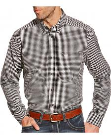 Ariat Men's Tristan Black Plaid Pro Series Shirt