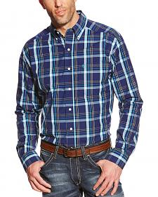 Ariat Men's Plaid Pro Series Walden Performance Shirt