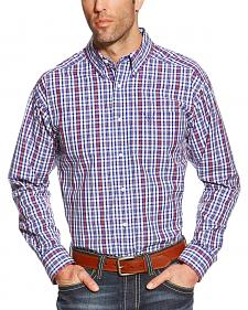 Ariat Pro Series Jedd Plaid Classic Fit Western Shirt