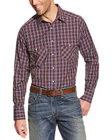 Ariat Pro Series Raywood Plaid Classic Fit Western Shirt