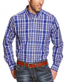 Ariat Pro Series Rochester Plaid Classic Fit Western Shirt