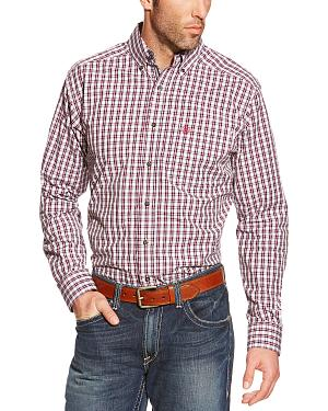 Ariat Pro Series Skylar Plaid Fitted Western Shirt