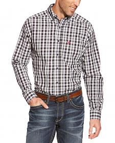 Ariat Pro Series Smithfield Plaid Western Shirt