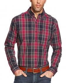 Ariat Men's Plaid Pro Series Slate Performance Shirt