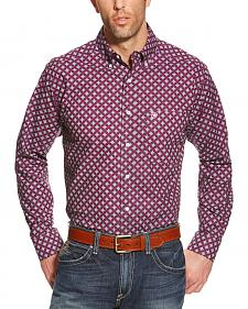 Ariat Men's Violet Print Western Shirt