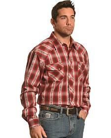 Garth Brooks Sevens by Cinch Dobby Plaid Western Shirt