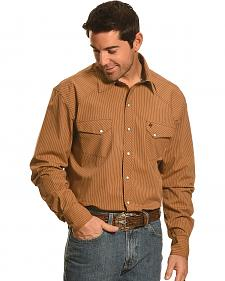 Garth Brooks Sevens by Cinch Beige Stripe Western Shirt
