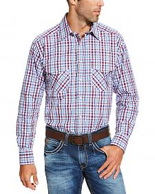Ariat Men's Red Austin Snap Shirt