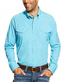 Ariat Men's Blue Brent Snap Shirt