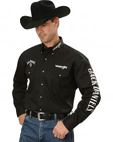 Wrangler Jack Daniel's Logo Western Shirt