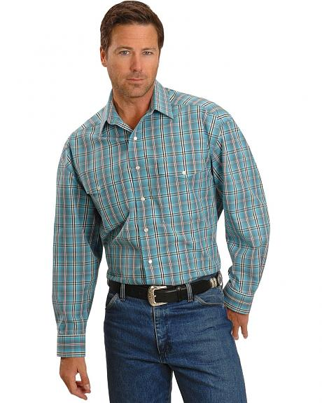 Panhandle Slim Plaid Western Shirt
