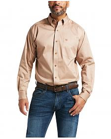 Ariat Khaki Twill Cowboy Shirt