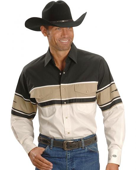 Ely Cumberland Outfitters Colorblock Western Shirt
