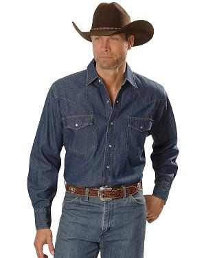 Ely Denim Western Shirt