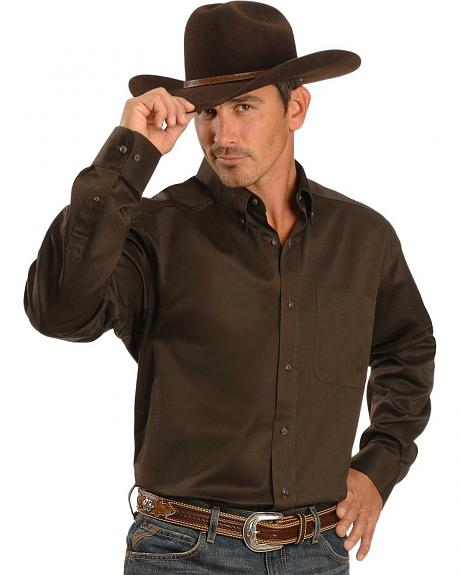 Ariat Espresso Twill Shirt