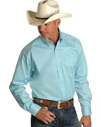 Ariat Glacier Solid Twill Western Shirt at Sheplers