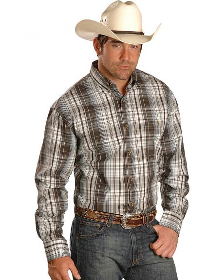 Exclusive Gibson Trading Co. Plaid Button Shirt