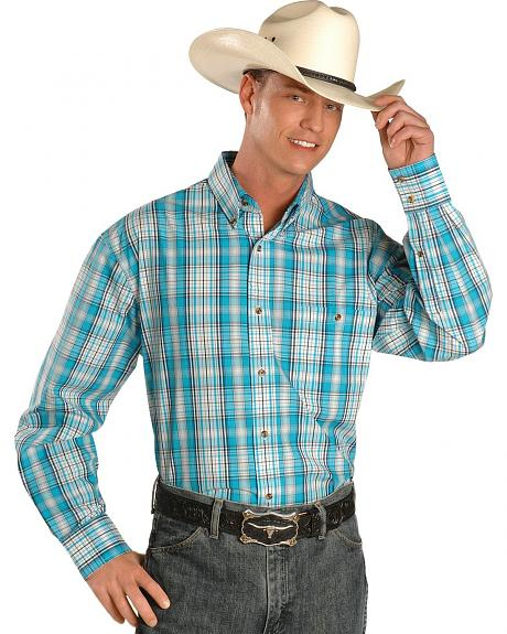 Exclusive Gibson Trading Co. Men's Plaid Button Shirt