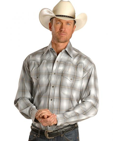 Stetson Western Plaid Snap Shirt